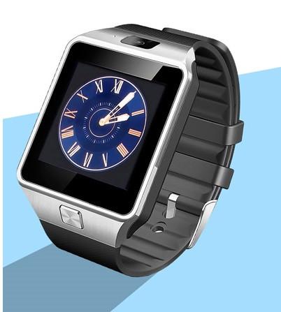 Умные часы телефон Smart Watch DZ09 c SIM картой Серебристый
