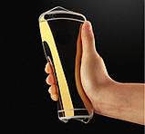 Зеркальный силиконовый чехол  для iPhone 5/5S/SE, фото 5