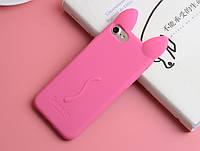 Силиконовый чехол с ушками iPhone 5/5S/SE