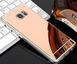 Зеркальный силиконовый чехол для Samsung Galaxy S6, фото 2