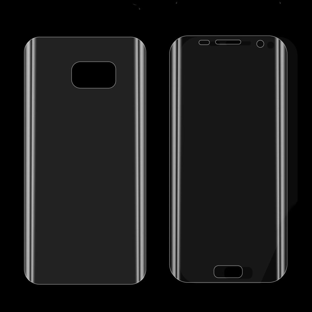 Защитные пленки (на обе стороны) для Samsung Galaxy S7 Edge
