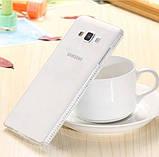 Силіконовий чохол з стразами для Samsung Galaxy S7 edge, фото 2