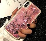 Чехол-накладка Жидкий Блеск силикон для Samsung Galaxy S6, фото 2