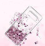 Чехол-накладка Жидкий Блеск силикон для Samsung Galaxy S6, фото 4