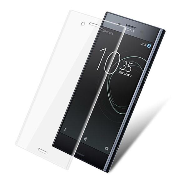 Защитное стекло 3D для Sony Xperia XZ Premium (G8142) Прозрачное