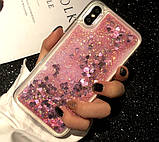 Чехол-накладка Жидкий Блеск для Samsung Galaxy S6 edge, фото 2