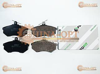 Колодки гальмівні передні (CK без ABS,T11,A21,B11,A11, з пружинками)