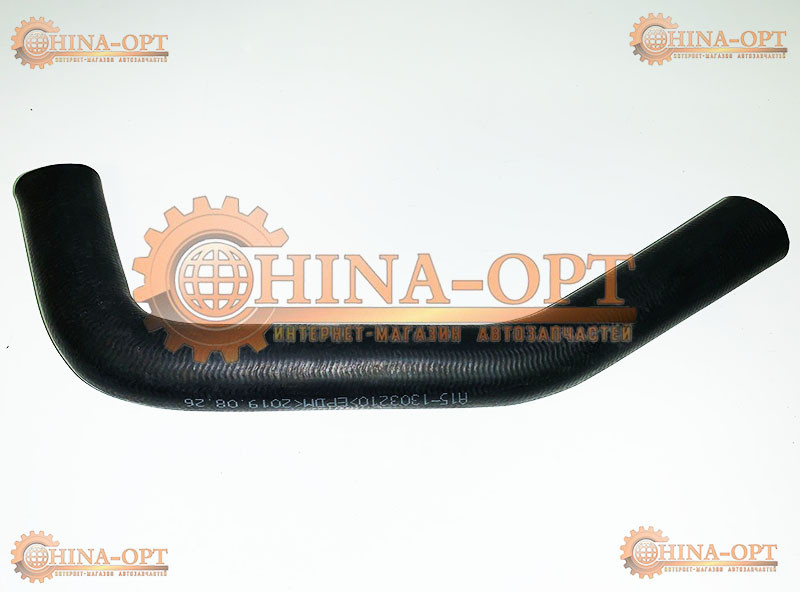 Патрубок радиатора охлаждения (верхний) Чери Амулет Седан Карри Chery Amulet Sedan Karry 1.6 MT