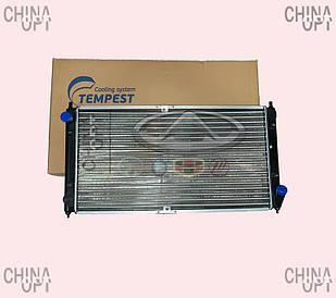 Радиатор охлаждения Чери Амулет Карри Амулет Chery Amulet Karry 1,5 1,6 МКПП