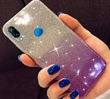 Силиконовый чехол градиент блеск для Huawei P Smart Z, фото 2
