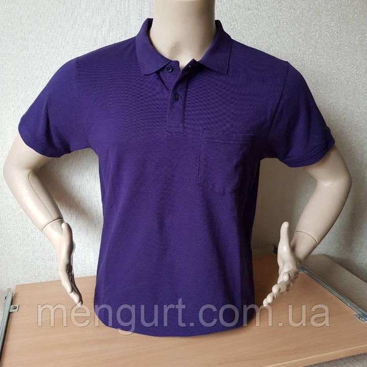 Футболка мужская поло Fazo-R  100% хлопок Узбекистан