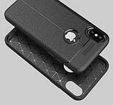 Защитный чехол-накладка под кожу для IPhone XS, фото 2