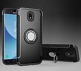 Противоударный бампер с магнитом и кольцом для Samsung Galaxy J3/J330 (2017), фото 2