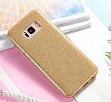 Чехол  3 в 1 с блестками на Samsung Galaxy S7 edge, фото 2