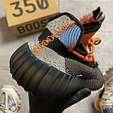 Мужские кроссовки Adidas Yeezy Boost 350 V2 рефлективные, мужские кроссовки адидас изи буст 350 в2, Yeezy 350, фото 5