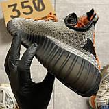 Мужские кроссовки Adidas Yeezy Boost 350 V2 рефлективные, мужские кроссовки адидас изи буст 350 в2, Yeezy 350, фото 6