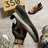 Мужские кроссовки Adidas Yeezy Boost 350 V2 рефлективные, мужские кроссовки адидас изи буст 350 в2, Yeezy 350, фото 3