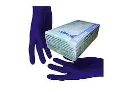 Перчатки нитриловые SFM без пудры 100шт XS