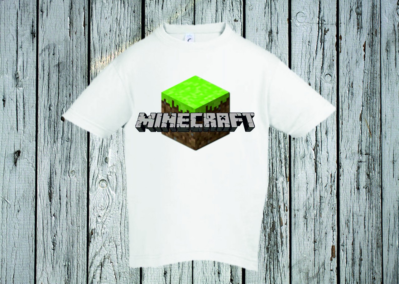Футболка YOUstyle Minecraft 0275 104(06Y) White
