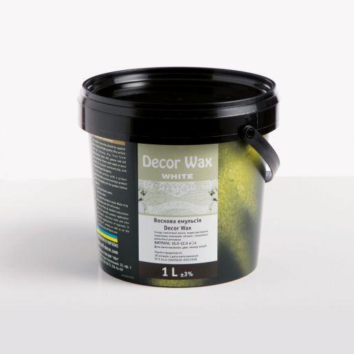 DECOR WAX WHITE - это воск с добавлением натурального белого пигмента Elf (1 л)