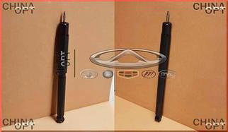 Амортизатор задній лівий / правий (газомасляний) Чері Тігго Ліфан X60 Chery Tiggo Lifan X60