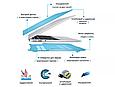 Чехол пластиковая накладка для макбука Apple Macbook PRO Retina 15,4'' Touch Bar  (A1707/A1990) - прозранчая, фото 8