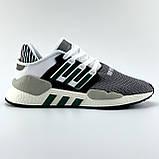 Мужские кроссовки Adidas EQT Support в стиле Адидас ЕКТ СЕРЫЕ (Реплика ААА+), фото 3