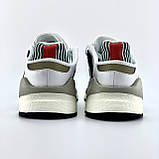 Мужские кроссовки Adidas EQT Support в стиле Адидас ЕКТ СЕРЫЕ (Реплика ААА+), фото 5
