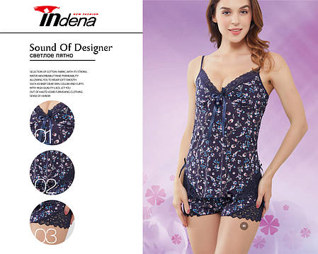 Женский комплект для сна Марка «INDENA» Арт.9119, фото 2