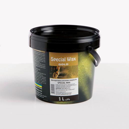 Special Wax - Спеціальний металізований віск для обробки декоративних покриттів всередині приміщень Elf (1л)