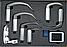 Видеоларингоскоп BD-DF з металевими багаторазовими клинками в кейсі, фото 3