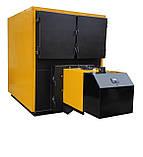 Твердотопливный, пеллетный котел 800 кВт с факельной горелкой + шнек питатель + щит управления, фото 2