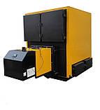 Твердотопливный, пеллетный котел 800 кВт с факельной горелкой + шнек питатель + щит управления, фото 3
