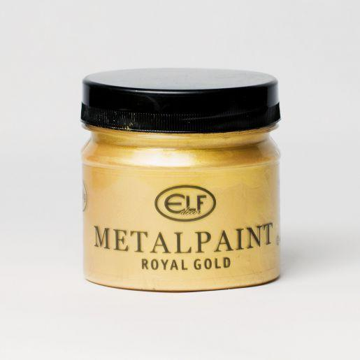 MetalPaint - Универсальная металлизированная водорастворимая краска. Elf
