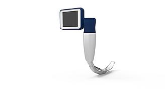 Видеоларингоскоп BD-DP со сменными одноразовыми клинками в кейсе (2 рукоятки на выбор)