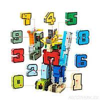 Цифры трансформеры арт. 2810