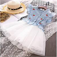 Платье для девочки Рост: 90-130 см