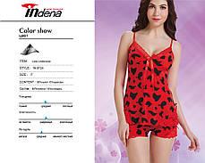 Женский комплект для сна майка и шорты Марка «INDENA» Арт.9124, фото 3
