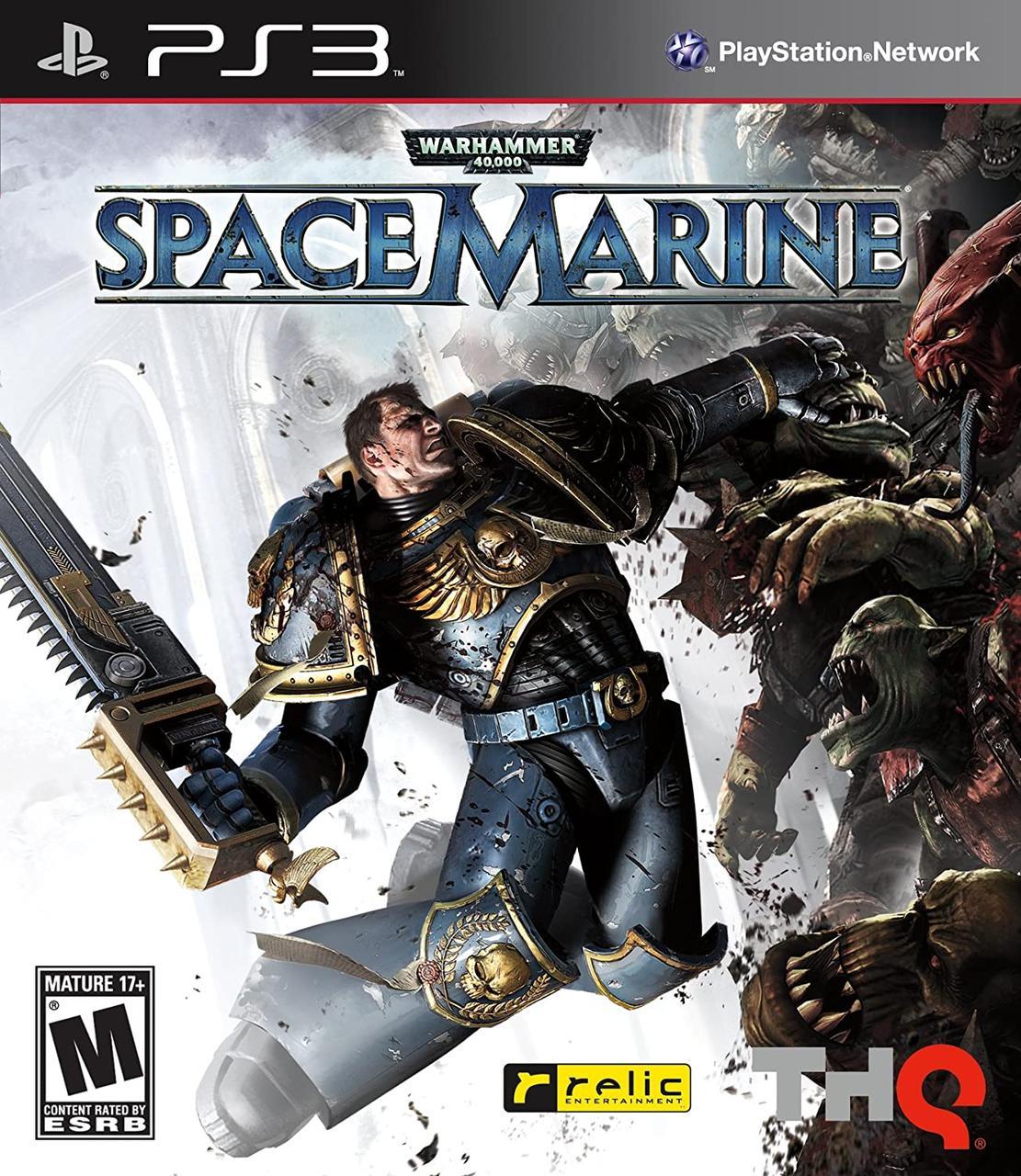 Игра для игровой консоли PlayStation 3, Warhammer 40 000: Space Marine (БУ)