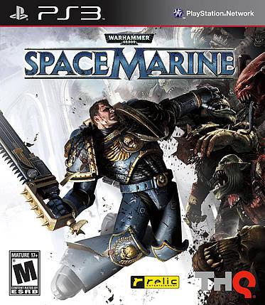 Игра для игровой консоли PlayStation 3, Warhammer 40 000: Space Marine (БУ), фото 2