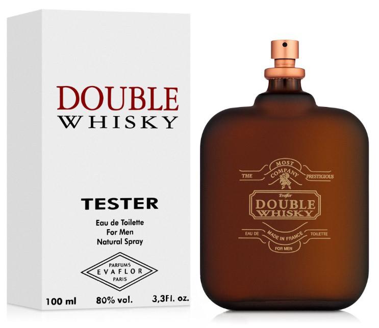 Туалетная вода Evaflor Double Whisky 100ml  М TESTER
