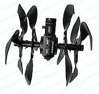 Насадка Культиватор на подшипниках Рамболд-289В2 на мотокосу-бензотример, штанга D=28 мм, 9 шлицов