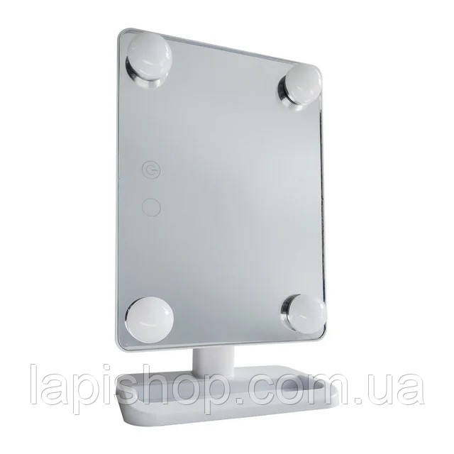 Зеркало с подсветкой для макияжа Cosmetie Mirror 360 Rotation Angel