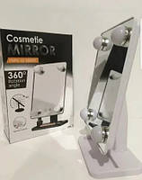Зеркало с подсветкой для макияжа Cosmetie Mirror 360 Rotation Angel, фото 2