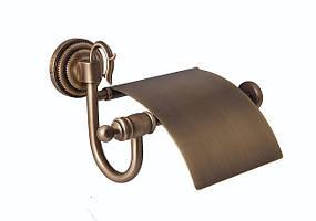 Держатель для туалетной бумаги с крышкой Versace (латунь)