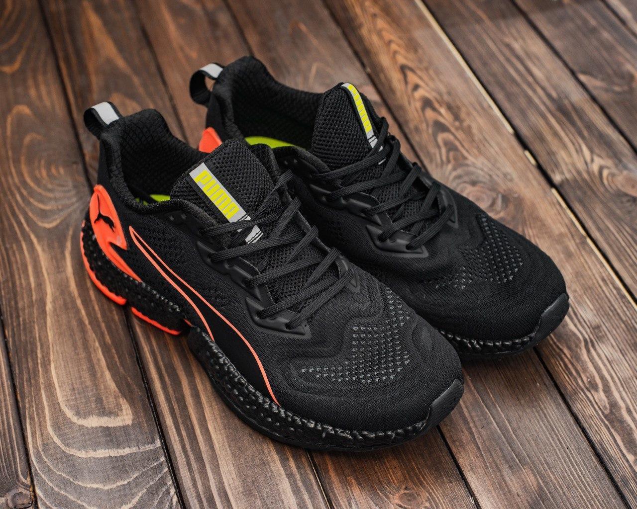 Мужские кроссовки черным цветом HYBRID Sky