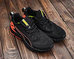Мужские кроссовки черным цветом HYBRID Sky, фото 2