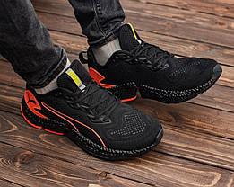 Мужские кроссовки черным цветом HYBRID Sky, фото 3