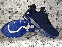Весенние мужские кроссовки в стиле ADIDAS MARATHON синие