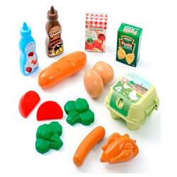 Набор продуктов в сетке 14 акс, Ecoiffier 18м+ (000950)